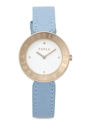 FURLA Watches pink and blue and gold Ladies Rose Gold Watches 2C4C0ACA32D59EGS_1