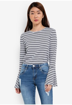 Mika Bell Sleeve Top