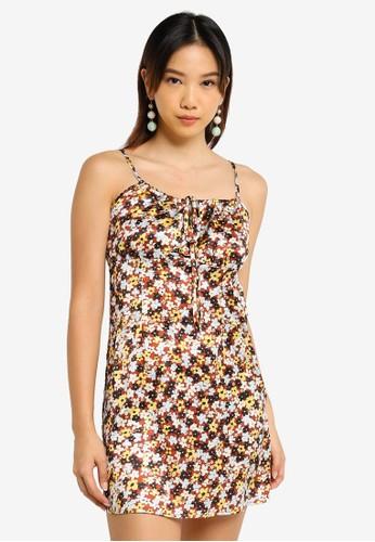 Charlie Holiday multi Saint Mini Slip Dress 5B412AA0E9754FGS_1