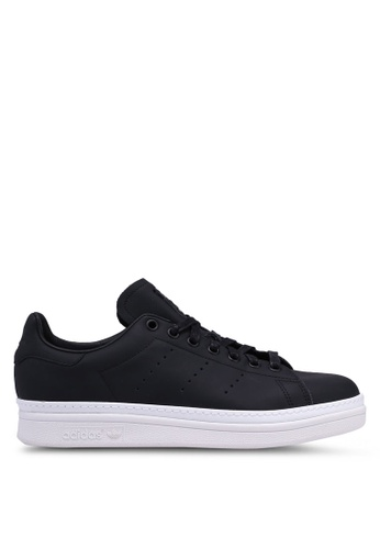 adidas black adidas originals stan smith new bold w 90B86SHE1C25EBGS_1