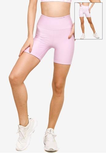 Cotton On Body pink Reversible Bike Shorts 93BC2AA1BBA46FGS_1