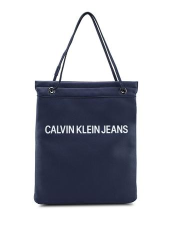 d0e1b7c9a5d8ae Calvin Klein navy Flat Totes - Calvin Klein Accessories 0FF67ACB0D7994GS_1