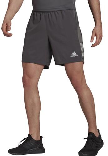 ADIDAS grey own the run shorts CA6FBAA0E7936EGS_1
