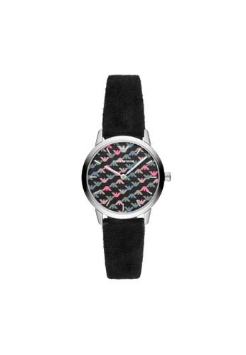 ARMANI black Raffaella Watch AR11261 08FA8ACF2E5BB3GS_1