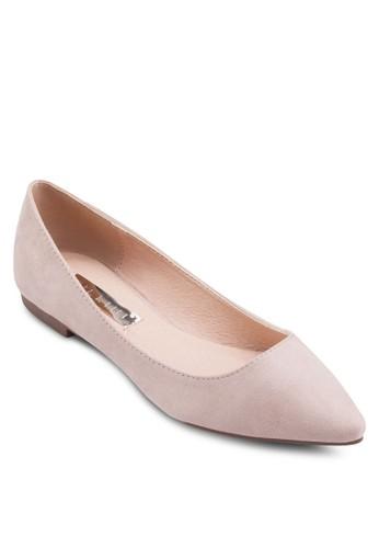 Vania 尖頭平底鞋, 女鞋esprit台灣, 鞋