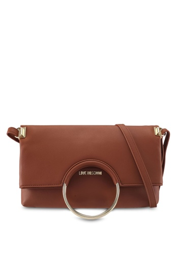 Love Moschino brown LOVE MOSCHINO Sling Bag LO478AC0SXYPMY_1