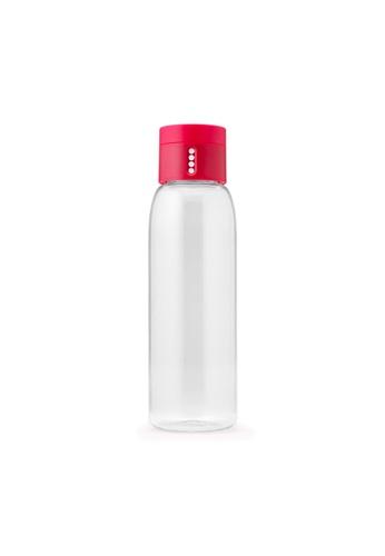 Joseph Joseph Joseph Joseph Dot Hydration-tracking Water Bottle 600ml - Pink (6.8Diax23.6Hcm) B595BHLDD183DFGS_1