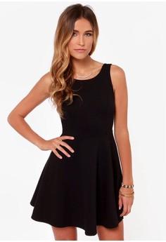 Posh Black Dress