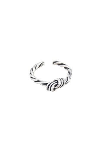OrBeing white Premium S925 Sliver Geometric Ring 1C8AFACFF70BEBGS_1