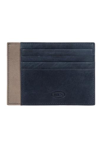 Bric's blue BRIC'S Stelvio RFID Slim Card Wallet (Navy/Grey) D60FEAC8EFB28BGS_1