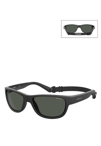 Polaroid black 7030/S Sunglasses E9F78GL3A06DF3GS_1