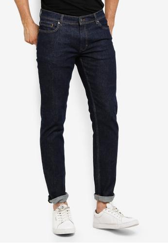 MANGO Man 藍色 修身牛仔褲 214FCAAEB72334GS_1
