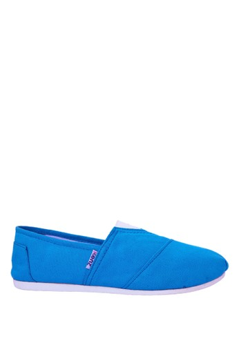 Kenz blue Kenz Sloppy Girl - Biru-Tosca KE298SH39KBOID_1