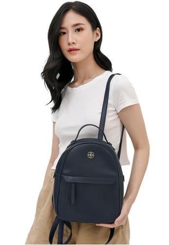 Les Catino navy Paris Milla Backpack FC053ACB617F95GS_1