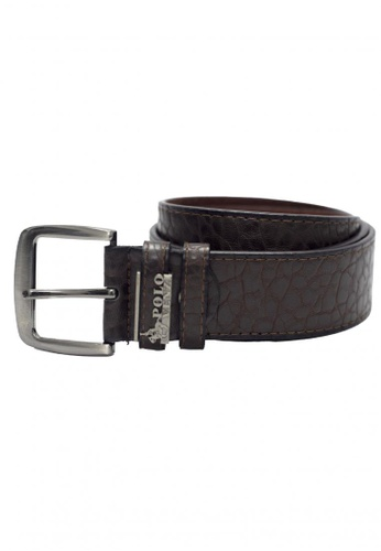 POLOVENZI brown Polovenzi Men Leather Belt FED11ACDEF8C39GS_1