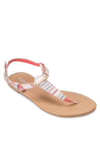 Cilesprit 工作la 夾腳涼鞋, 女鞋, 印花時代