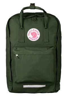 "9937f85f42c11 Fjallraven Kanken green Forest Green Kanken 17"" Backpack FJ483AC89NXMHK 1"