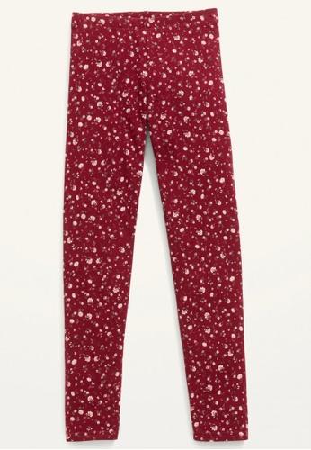 Old Navy red Girls Printed Built-In Tough Full-Length Leggings 96037KA024F7D3GS_1