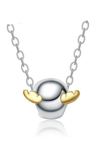 LYCKA silver LPP88141 S925 Silver Necklace 52DB9AC392ED41GS_1