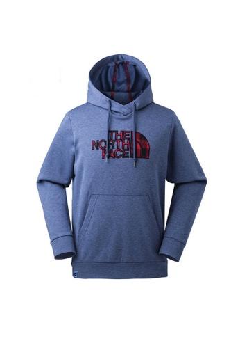 ccfea8baf The North Face Otg Half Dome Hoodie - Ap Shady Blue Dark Heather
