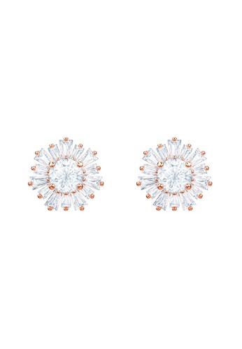 Swarovski gold Sunshine Pierced Earrings 8222FAC134CBF7GS_1