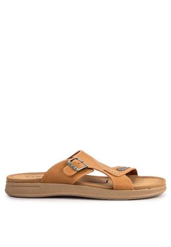 CARVIL brown Sandal Casual Men Hummer-02M F603ESH99C0CA2GS_1