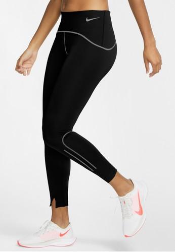 Nike black Women's Speed 7/8 Matte Running Tights D4CC7AAD3CAB16GS_1