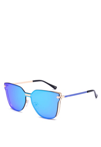Privé Revaux gold The Madam Sunglasses PR660GL0RC47MY_1