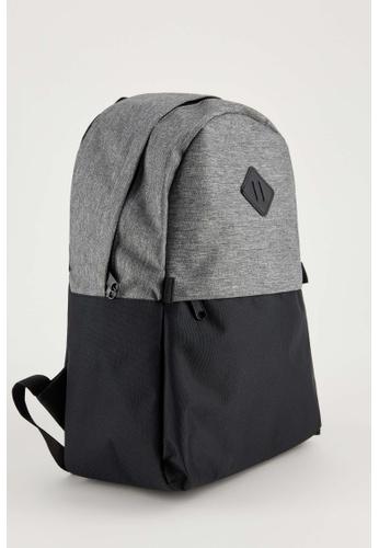 DeFacto grey Man Backpack Bag 35F76ACECA7A6CGS_1