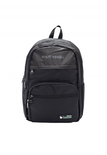 POLOVENZI black POLOVENZI BACKPACK 6AD14AC2D3E80CGS_1