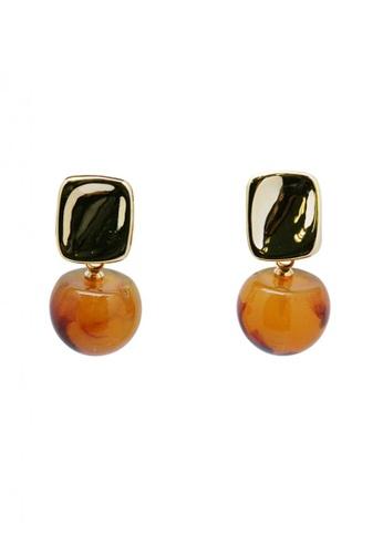 SKEDA multi Resin Drop Earrings FE95AAC1A23F87GS_1