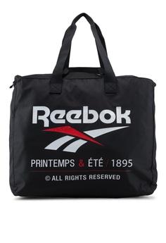 Reebok black Classic Core Printemps ETE Tote Bag 212FFAC1FBD0BBGS_1