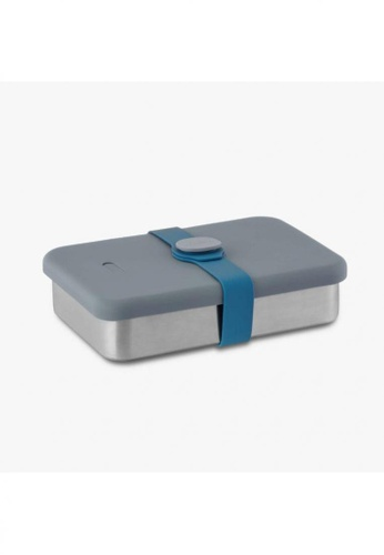 Viida [VIIDA] The Morgen Series Kasten Stainless Steel Lunch Box Bento Set with Leak-proof lid, Blue - LFGB Germany, FDA & SGS Certified Safe E9AE9HL1147742GS_1