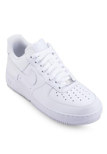 Nike white Men's Nike Air Force 1 '07 Shoes 21EA7SH04E3422GS_1