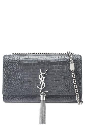 SAINT LAURENT grey Kate Monogram Bag (zt) 18A28AC34ED8DEGS_1