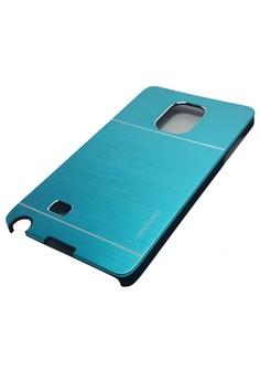 Ultra Sleek Metal Case for Samsung Galaxy Note Edge (Blue)