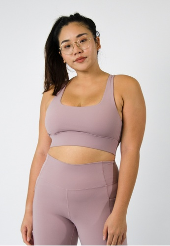 Anya Active pink Revitalise Bra in Lavender 944ABUS8ACD560GS_1