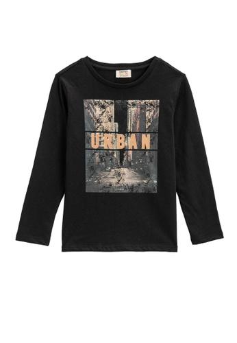 KOTON black T-Shirt For Boys 04A0FKADD73C6AGS_1