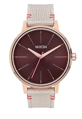 Nixon grey KENSINGTON LEATHER ROSEGOLD/ BROWN BCA90AC20C7A3FGS_1