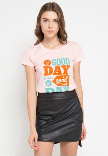 MEIJI-JOY orange Print Italia A Good short sleeve Tshirt ME642AA0VRIFID_1