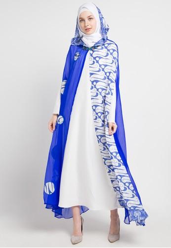 LUIRE by Raden Sirait blue and multi Ca-Alesya D8406AA7208BCBGS_1