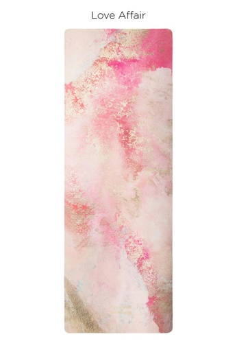 Sugarmat pink Love Affair - Suede Travel Yoga Mat (1MM) 79783SE1EBB67AGS_1