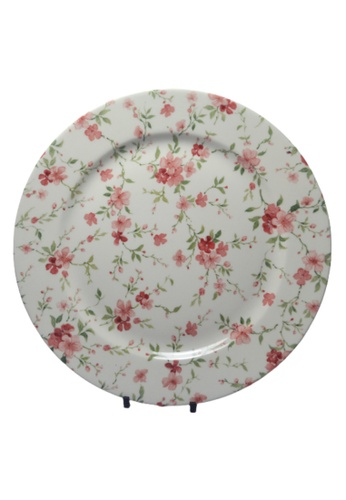 "Claytan Florid - 10.5"" Dinner Plate 7A1B5HL863B4B7GS_1"
