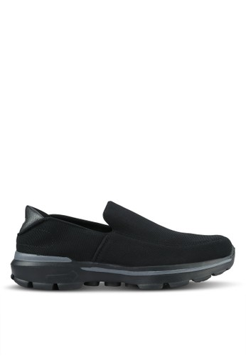 UniqTee black Lightweight Slip-On Sport Shoes UN097SH0RS4GMY_1