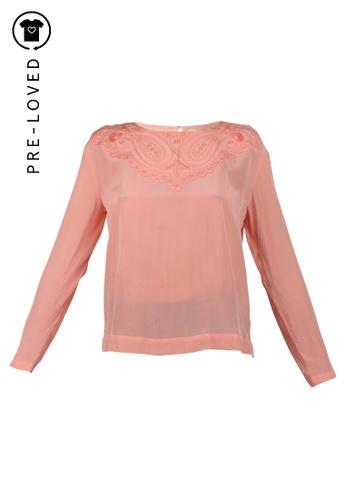 Vanessa Bruno pink Pre-Loved vanessa bruno Pink Silk Blouse 0ADD4AA200C546GS_1