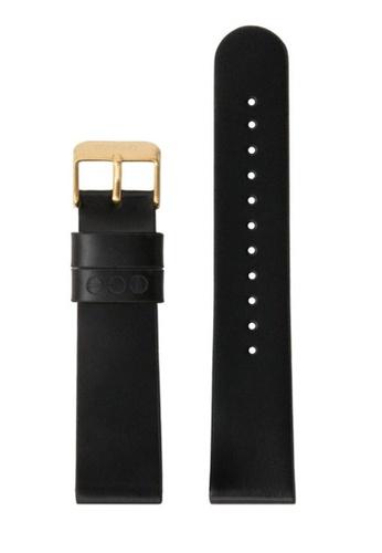 KOMONO black Winston or Walther 20 Black Gold Strap KO163AC0T0TRMY_1