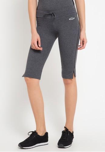 Opelon grey Opelon Celana Olahraga Wanita - Capri Pants Heather Dark Grey F1C07AA5BFD9AAGS_1