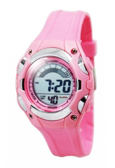 Mingrui Seger Water Resistant Sports Watch MR-8528019 (Baby Pink)