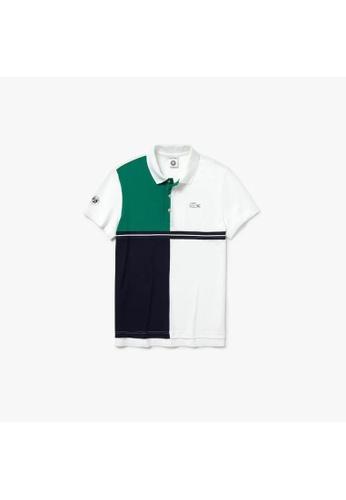 3a2c71f4d9 Men's Lacoste SPORT French Open Colourblock Petit Piqué Polo Shirt -  PH3481-10