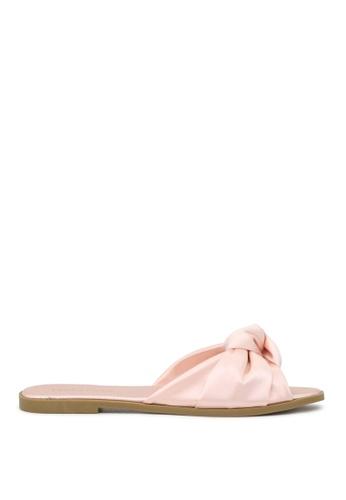 London Rag pink London Rag Sadie Women's  Blush Flat Sandals Sh1569 DF9DCSH7CF90B1GS_1